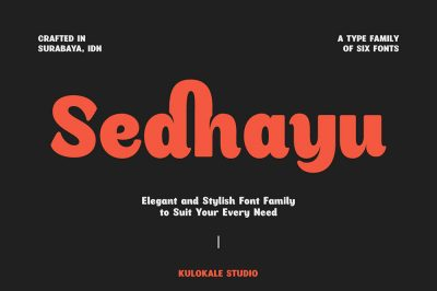Sedhayu Font Family