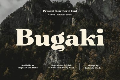 Bugaki – Display Serif