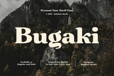 Bugaki – Display Serif