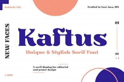 Kaftus – Display Serif