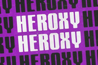 Heroxy Display Sans