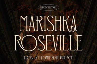 Marishka Roseville Serif Font