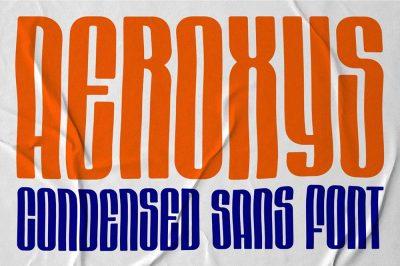 Aeroxys Font