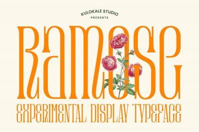 Ramose Display Font